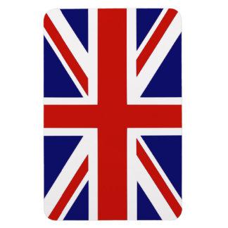 Bandera británica imán foto rectangular