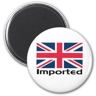 Bandera BRITÁNICA importada Imán Redondo 5 Cm
