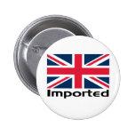 Bandera BRITÁNICA importada Pins