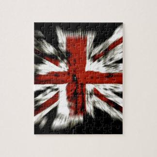 Bandera BRITÁNICA Inglaterra Rompecabezas
