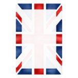 Bandera británica inmóvil  papeleria de diseño
