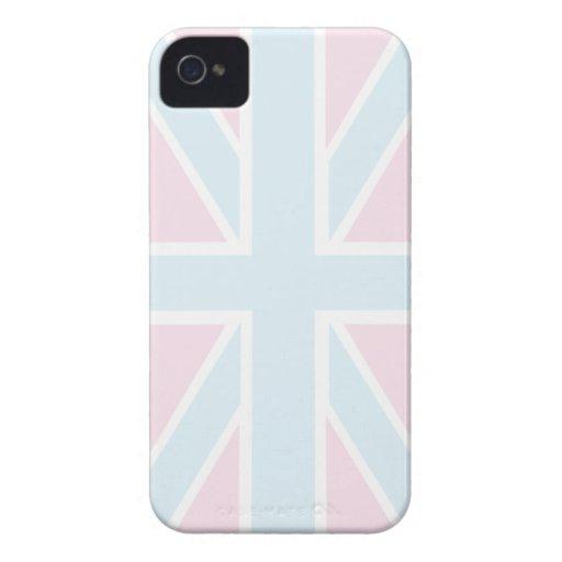Bandera británica Iphone 4/4S Barely There de Funda Para iPhone 4