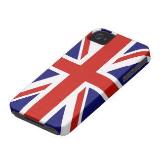 Bandera británica iPhone 4 Case-Mate funda