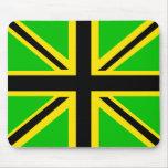 Bandera británica jamaicana Mousepad Tapetes De Raton