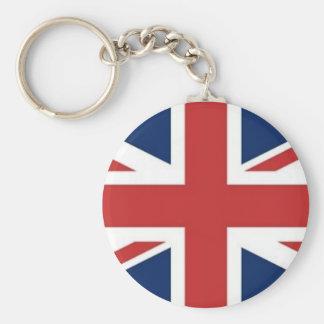 Bandera británica llavero