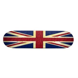 "Bandera británica - monopatín patineta 8 1/8"""