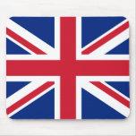 Bandera BRITÁNICA Mousepad Alfombrillas De Raton