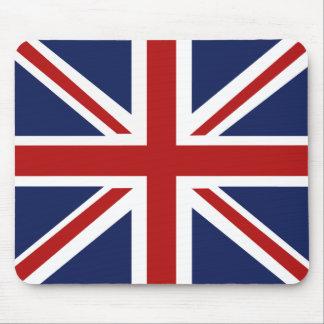Bandera británica Mousepad de Union Jack Alfombrillas De Ratón