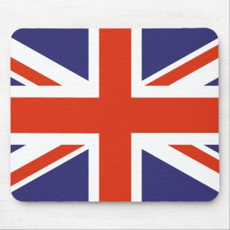 Bandera británica Mousepad de Union Jack Tapetes De Ratón