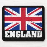 Bandera británica Mousepad de Union Jack Tapetes De Raton