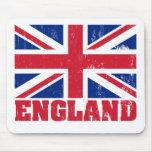 Bandera británica Mousepad de Union Jack Tapete De Raton