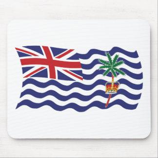 Bandera británica Mousepad del Océano Índico