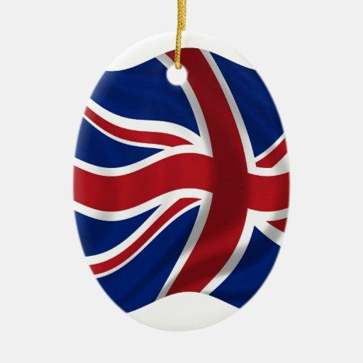 Bandera británica ornatos