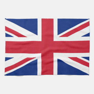 Bandera británica toallas de mano
