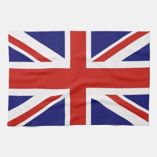 Bandera británica toallas
