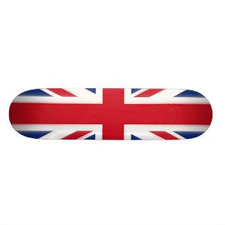 "Bandera británica patineta 8 1/8"""