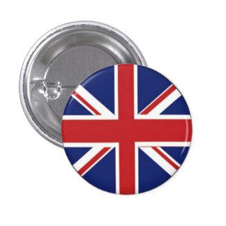 Bandera británica pin redondo de 1 pulgada