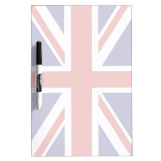Bandera británica pizarra
