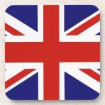 Bandera británica posavasos