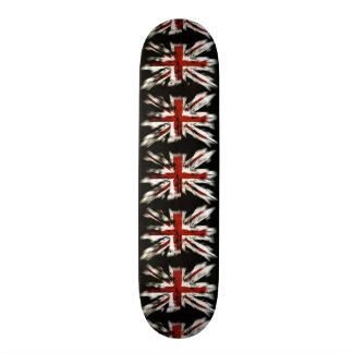 Bandera británica punky skate boards