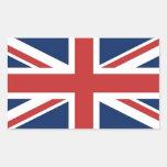 Bandera británica rectangular altavoces