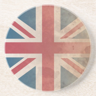 Bandera británica, (Reino Unido, Gran Bretaña o In Posavasos Cerveza