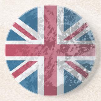 Bandera británica, (Reino Unido, Gran Bretaña o In Posavasos Manualidades