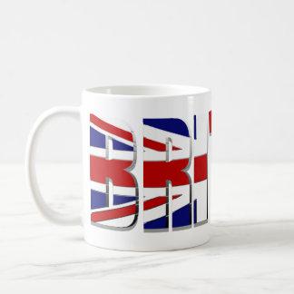 Bandera británica Reino Unido Inglaterra País de Taza De Café