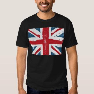 Bandera británica remeras