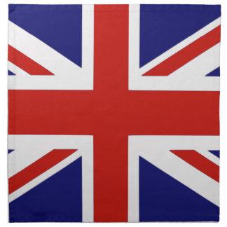 Bandera británica servilletas de papel