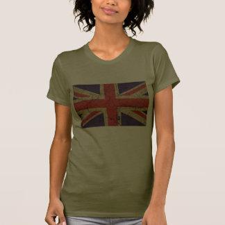 Bandera BRITÁNICA sucia (Union Jack) Camiseta