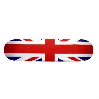 Bandera británica tablas de skate