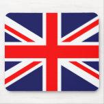 Bandera británica tapete de ratón