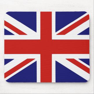 Bandera británica tapete de ratones
