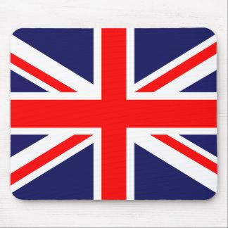 Bandera británica alfombrilla de ratón