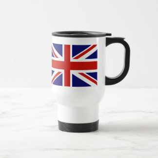 Bandera británica taza de café