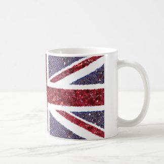Bandera británica taza clásica