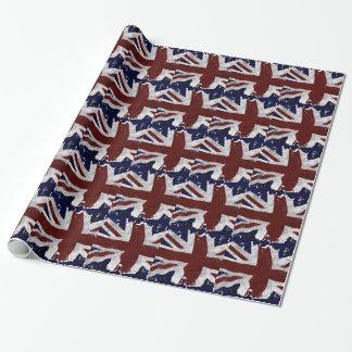 Bandera británica, Union Jack, diseño patriótico