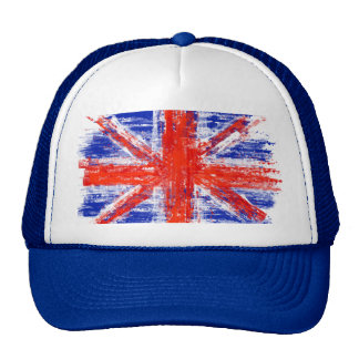 bandera británica, Union Jack, la bandera de unión Gorros