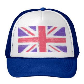 bandera británica, Union Jack, la bandera de unión Gorros Bordados