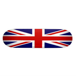 Bandera británica Union Jack Patines