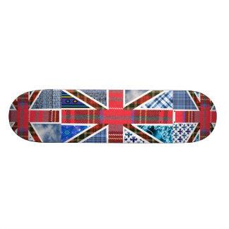 Bandera británica Union Jack Patines Personalizados