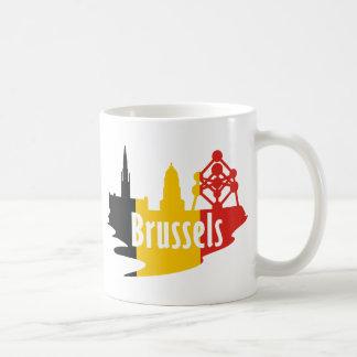 Bandera Bruselas Tazas