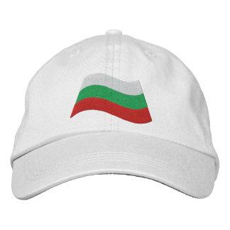 Bandera búlgara gorro bordado