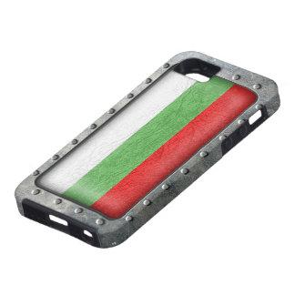 Bandera búlgara industrial funda para iPhone SE/5/5s