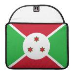 Bandera burundesa funda macbook pro