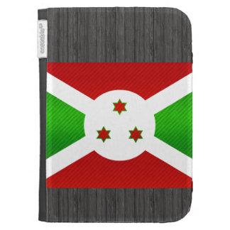 Bandera burundesa pelada moderna