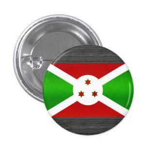 Bandera burundesa pelada moderna pins