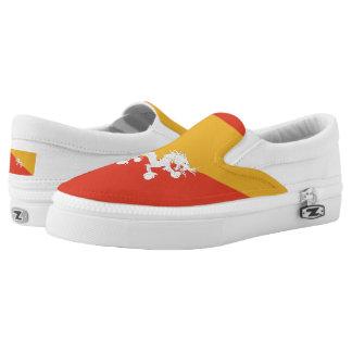Bandera butanesa zapatillas