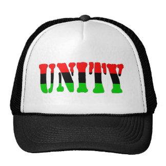 Bandera Cacerola-Africana de la unidad Gorras